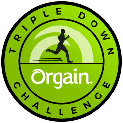 Triple Down with Orgain