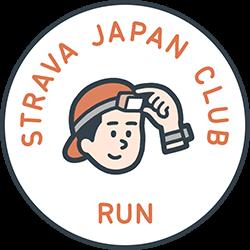 Strava Japan Club New Year Challenge (Run) logo