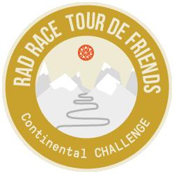 Continental x RAD RACE Tour de Friends 2019 logo