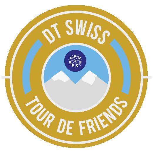 DT Swiss x RAD RACE Tour de Friends 2018 logo