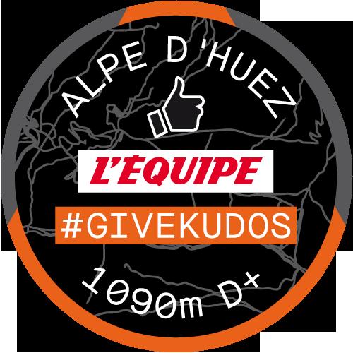 L'Équipe #GiveKudos logo