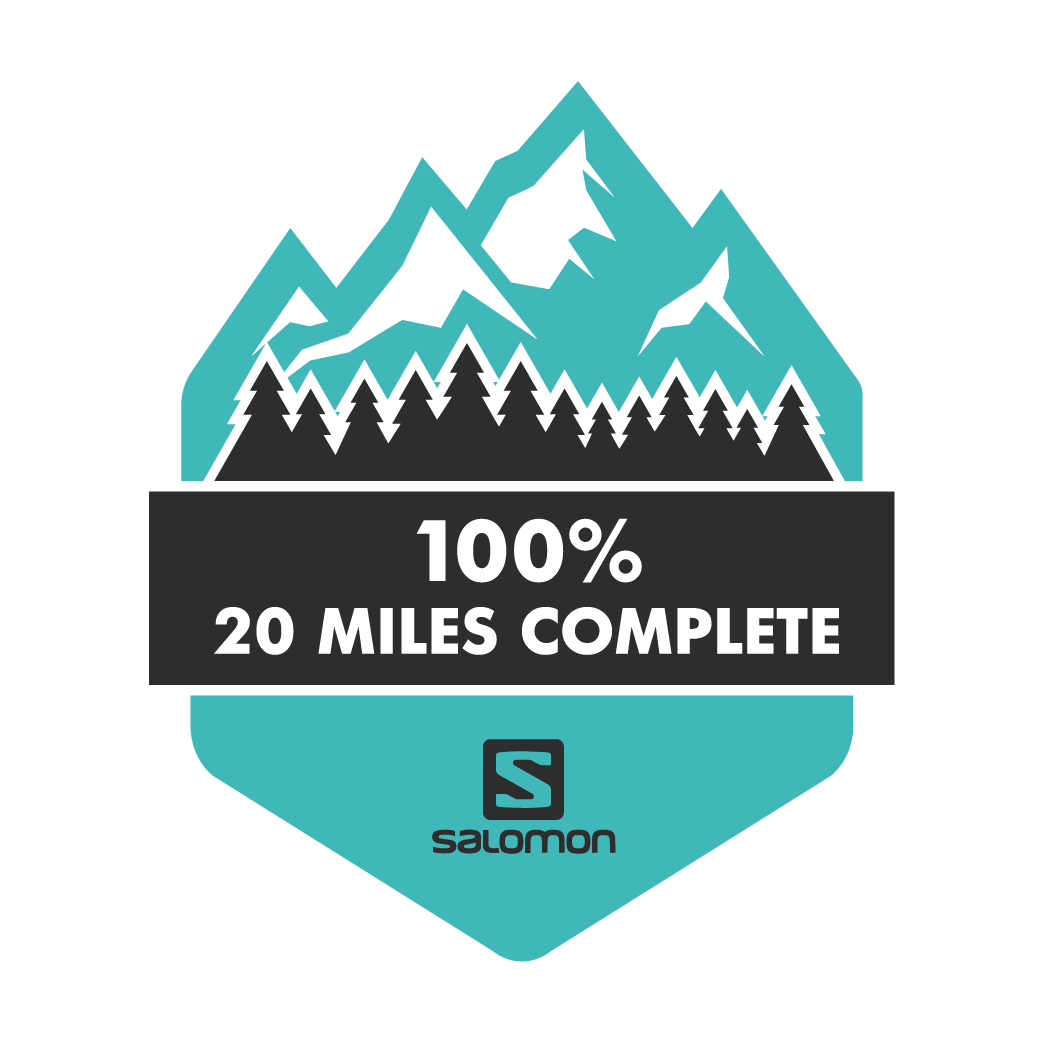 The Salomon 20 Mile Challenge