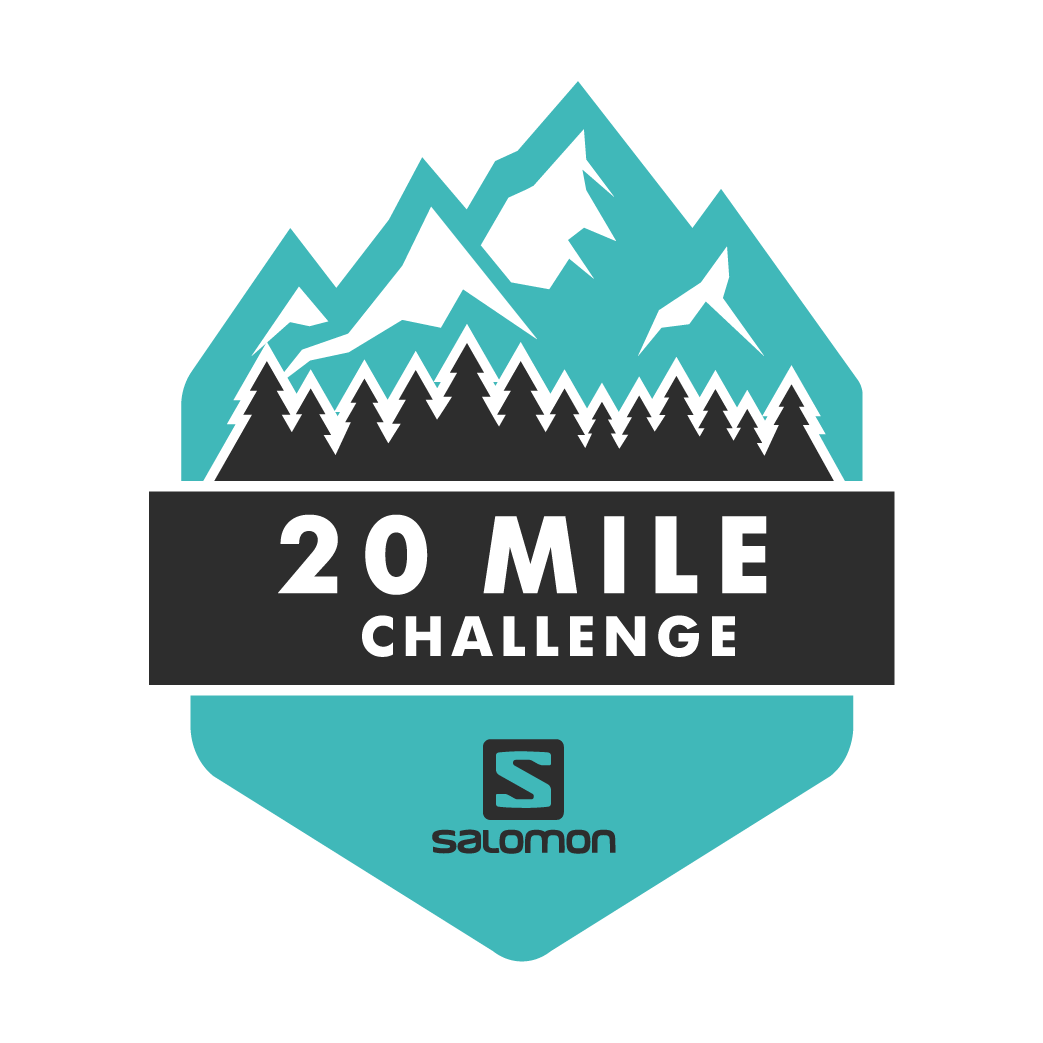 The Salomon 20 Mile Challenge logo