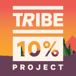 TRIBE 10% Project: 100 Minute Challenge logo