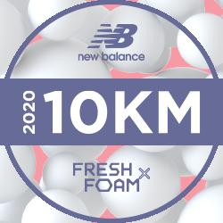 New Balance Virtual 10km logo