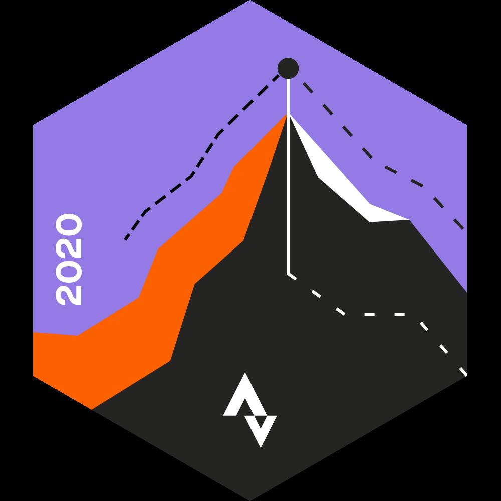 October Run Climbing Challenge logo