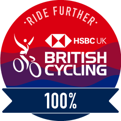 The British Cycling Ride Further Challenge