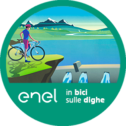 In bici sulle dighe logo
