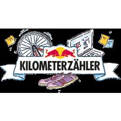 Red Bull Kilometerzähler - Run logo
