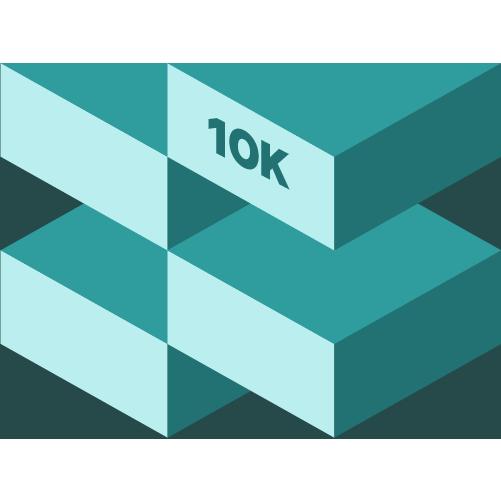 April 10K logo