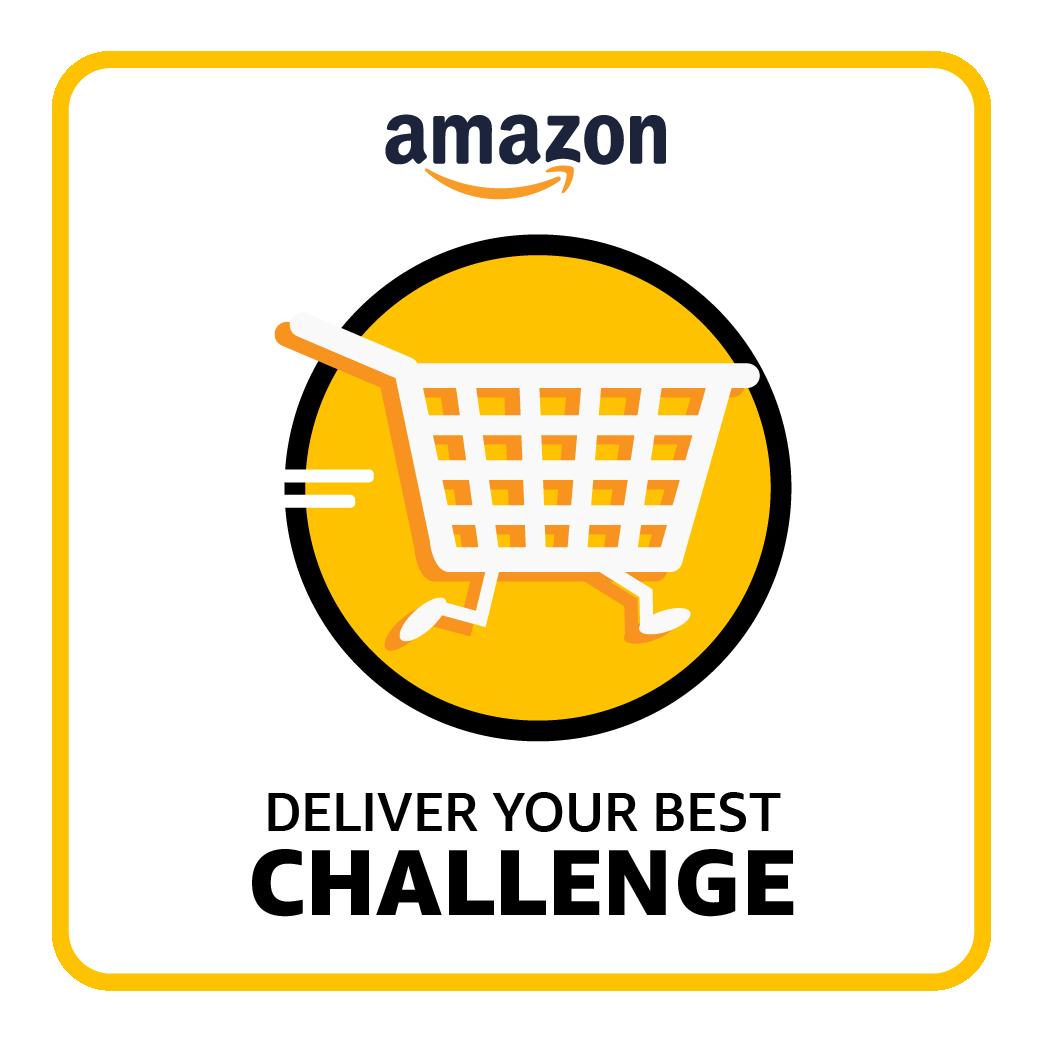 Amazon Deliver Your Best Challenge logo