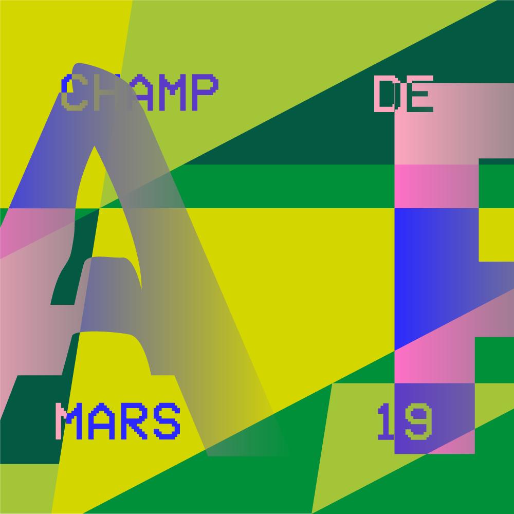 #ParisMarathon - Champ-de-Mars logo