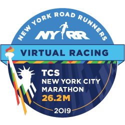 TCS New York City Marathon - Virtual 26.2M logo