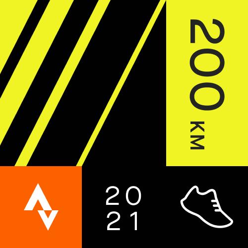 January Running Distance Challenge logo