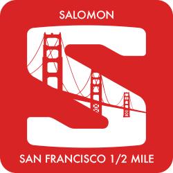 Salomon San Francisco 1/2 Mile logo