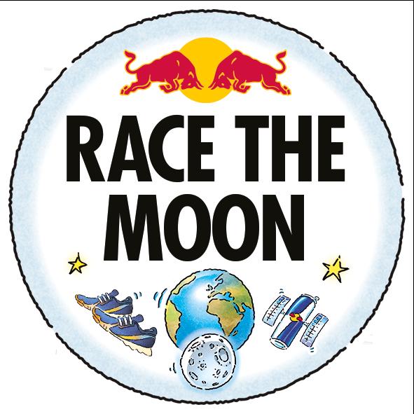 Red Bull Race The Moon logo