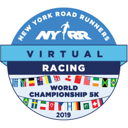 NYRR Virtual World Championships 5k logo