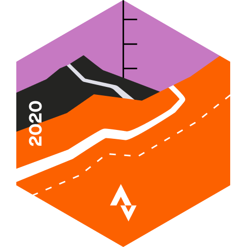 June Cycling Climbing Challenge logo