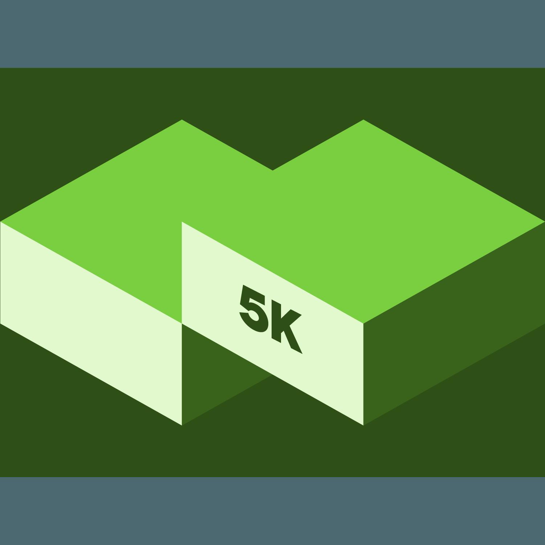 March 5K Virtual Race logo