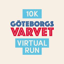 Göteborgsvarvet Virtual Run 10k logo
