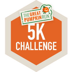 The Great Pumpkin Run Fall 5K logo