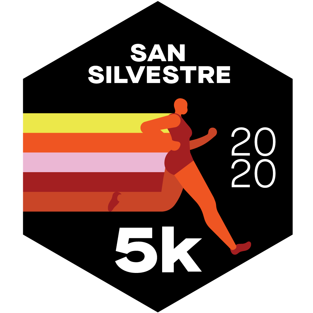 Virtual San Silvestre logo