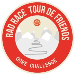 GORE Wear x RAD RACE Tour de Friends 2019 logo