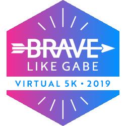 The Brave Like Gabe Virtual 5k