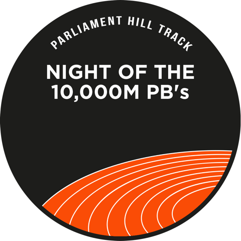 Night of the 10k PBs logo