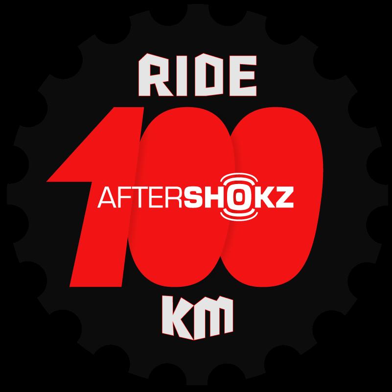 AfterShokz 100km Challenge logo