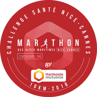 Santé Harmonie Mutuelle x Marathon Nice-Cannes logo