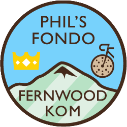 Phil's Cookie Fondo: Fernwood KOM