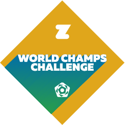 Zwift x World Champs Challenge logo