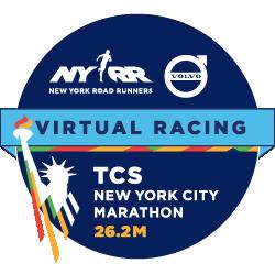 Virtual TCS New York City Marathon logo