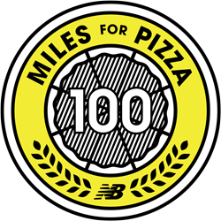 The New Balance Miles for Pizza Challenge
