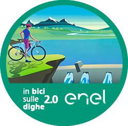 In bici sulle dighe 2.0 logo