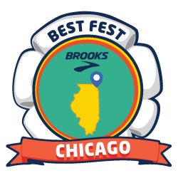 Brooks Best Fest Chicago logo