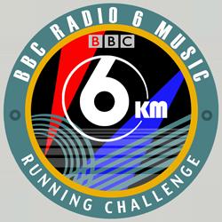 BBC 6 Music Running Challenge logo