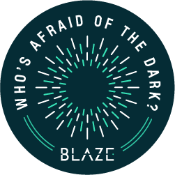 Blaze - Who's Afraid of the Dark?  logo