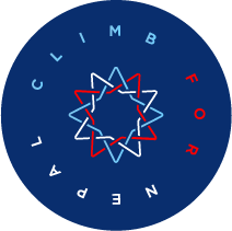 Climb for Nepal - Run logo