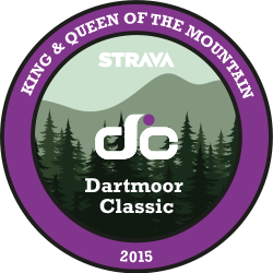 Dartmoor Classic King and Queen of the Mountain logo