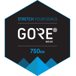The GORE® WEAR Stretch Your Goals Challenge logo