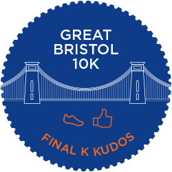 Great Bristol 10K logo