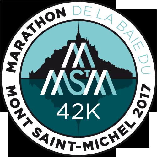 Marathon de la baie du Mont-Saint-Michel logo