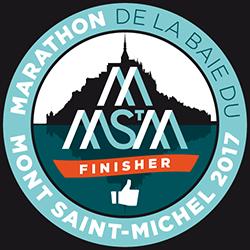 Marathon du Mont-Saint-Michel - Segment finisher du Couesnon