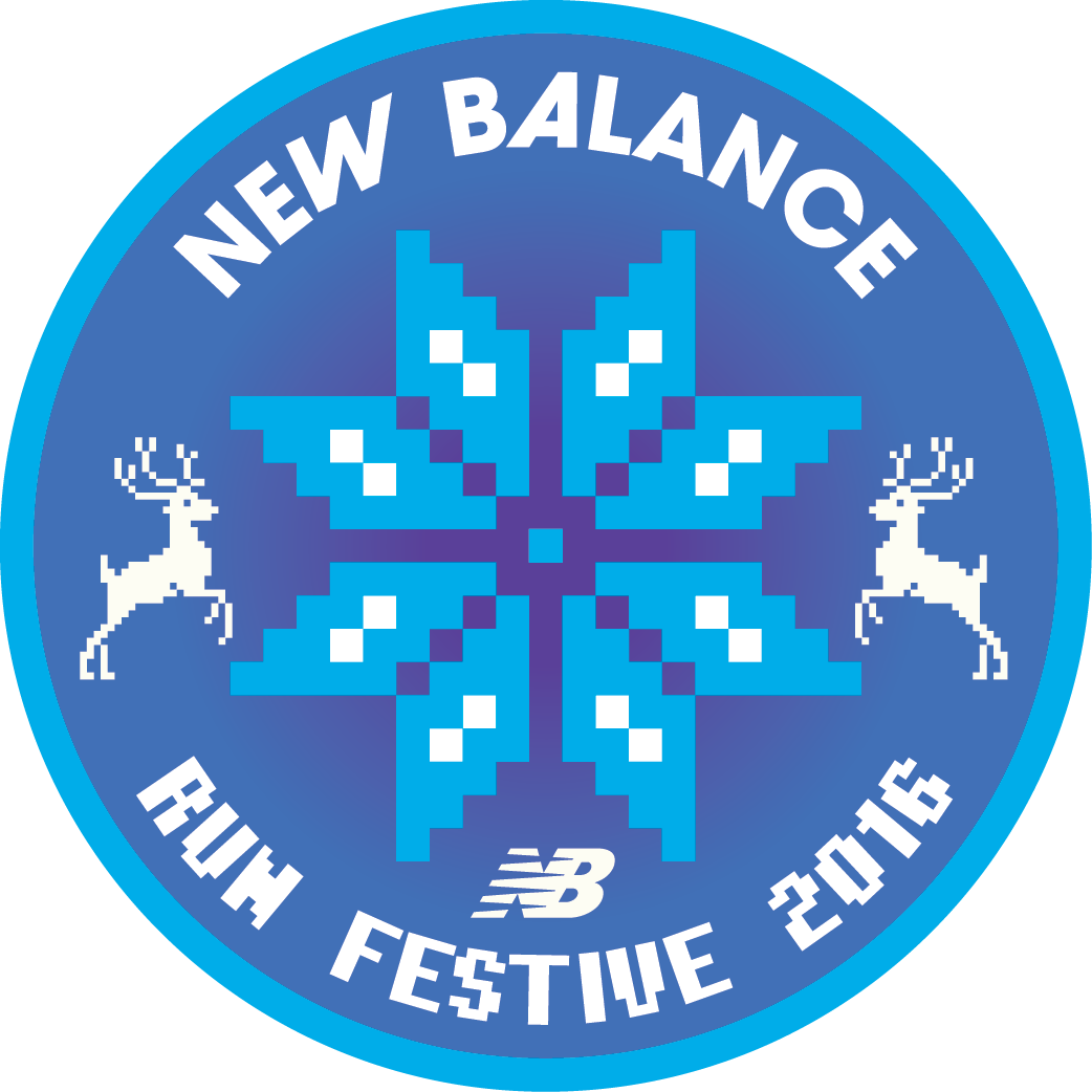 New Balance Run Festive logo