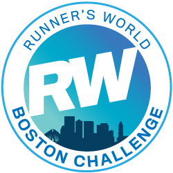 Runner's World Boston Challenge logo