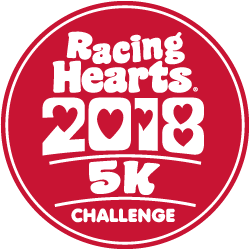Racing Hearts 5k logo