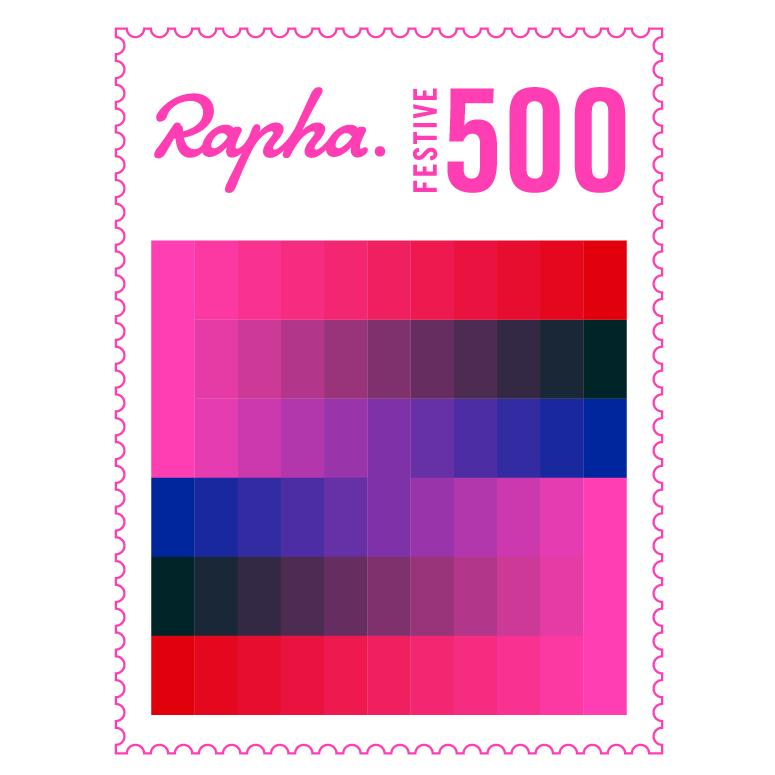 De Rapha #Festive500-logo