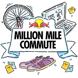 Red Bull Million Mile Commute logo